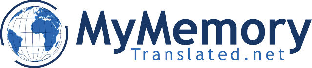 MyMemory - the world's largest translation memory